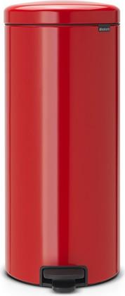 Мусорный бак с педалью 30л, пламенно-красный Brabantia Newicon 111808
