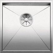 Кухонная мойка Blanco Zerox 400-U, отводная арматура, полированная сталь 521585