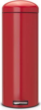 Мусорный бак 20л с педалью, MotionControl, красный Brabantia Retro Slim 483806