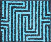 Коврик для ванной Grund Aruba, 50x60см, полиакрил, бирюзовый 2743.76.184