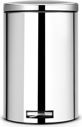 Мусорный бак 20л с педалью, MotionControl, сталь полированная Brabantia 478369