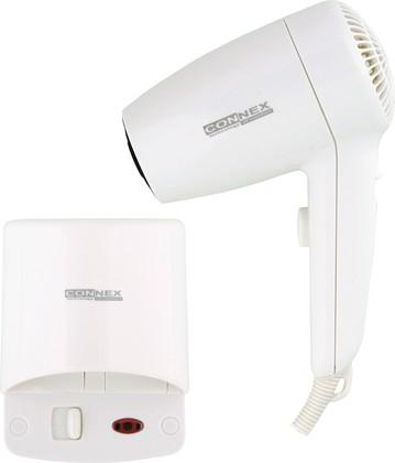 Фен настенный для волос, 1200Вт Connex HAD-120-18A1