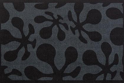 Коврик придверный 50x78см для помещения серые кляксы, полиамид Golze CONTZEN MATS LE POP 1700-40-008-041