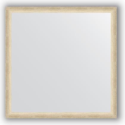 Зеркало 70x70см в багетной раме старое серебро Evoform BY 0661