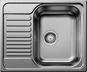 Кухонная мойка Blanco Tipo 45S mini, с крылом, матовая сталь 516524