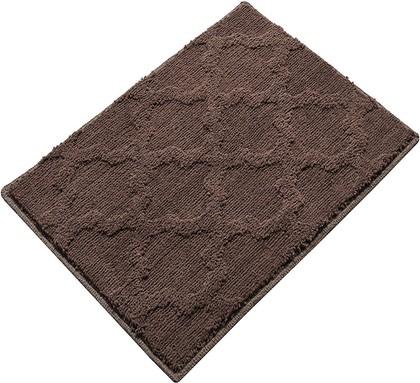 Коврик для ванной 50x55см, шоколадный Grund Trellis B4030-060106317
