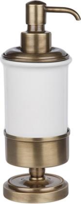 Дозатор для жидкого мыла TW Bristol, керамика, отдельностоящий, бронза TWBR180br
