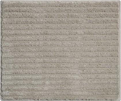 Коврик для ванной Grund Riffle, 50x60см, полиэстер, серый b4001-766303