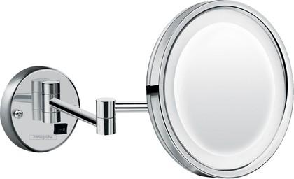 Зеркало косметическое Hansgrohe Logis Universal с подсветкой, хром 73560000