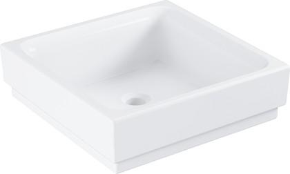 Раковина накладная Grohe Cube Ceramic 40см, белый 3948200H