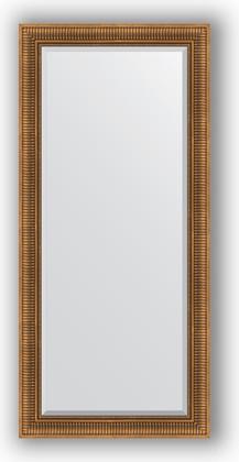 Зеркало с фацетом в багетной раме 77x167см бронзовый акведук 93мм Evoform BY 3596