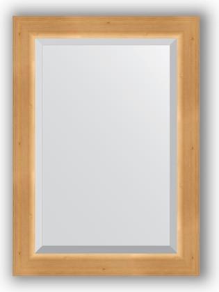 Зеркало 51x71см с фацетом 30мм в багетной раме сосна Evoform BY 1123