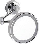 Косметическое зеркало Bemeta с подсветкой, d180 5,6W 116101142
