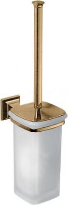Ёрш для туалета со стеклянной колбой и держателем, бронза Colombo Portofino B3207.bronze