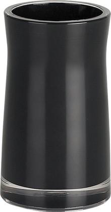 Стакан для зубных щёток Spirella Sydney Acrylic, чёрный 1011329