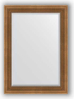 Зеркало с фацетом в багетной раме 77x107см бронзовый акведук 93мм Evoform BY 3466
