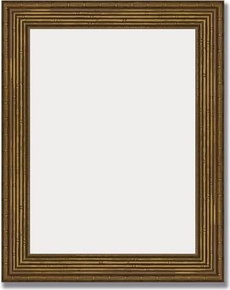 Зеркало 39x49см в багетной раме сухой тростник Evoform BY 1346