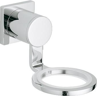 Держатель для стакана или дозатора жидкого мыла настенный хромированный Grohe Allure 40278000