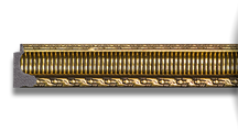 Зеркало 54x104см в багетной раме золотой акведук Evoform BY 1058