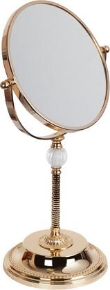 Зеркало косметическое настольное, двустороннее, золото TW Murano TWMU BA292/OVoro