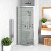Душевая дверь Roltechnik Lega LLDO1, 70см, прозрачное стекло, хром 551-7000000-00-02