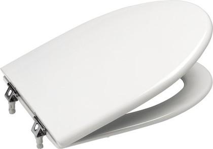 """Лакированное сиденье и крышка с механизмом """"мягкое закрывание"""" для унитаза, белый Roca AMERICA 801492004"""