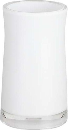 Стакан белый Spirella Sydney Acrylic 1011344