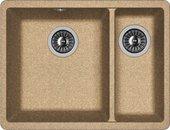 Кухонная мойка Florentina Вега, 550x420x217мм, коричневый 22.325.D0510.105
