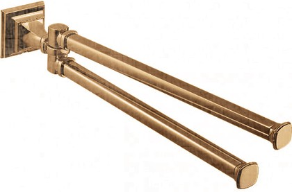 Держатель-рогатка двойная для полотенец 415мм, бронза Colombo Portofino B3212.bronze