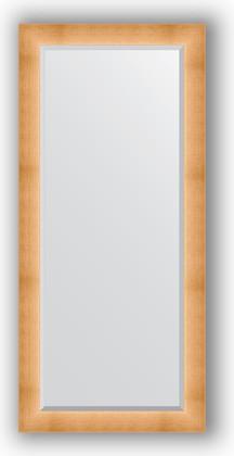 Зеркало 76x166см с фацетом 30мм в багетной раме травлёное золото Evoform BY 1211