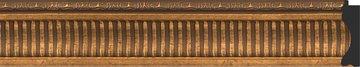 Зеркало с фацетом в багетной раме 57x77см бронзовый акведук 93мм Evoform BY 3388