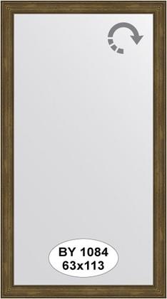 Зеркало 63x113см в багетной раме сухой тростник Evoform BY 1084
