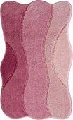 Коврик для ванной 80x140см, розовый Grund Curts b2570-79149