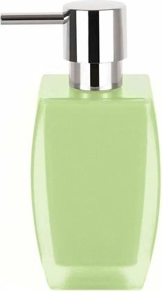 Ёмкость для жидкого мыла зелёная Spirella Freddo 1016101