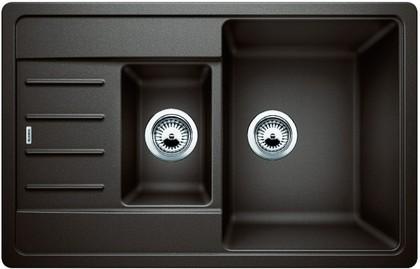 Кухонная мойка с крылом оборачиваемая, гранит кофе Blanco Legra 6 S Compact 521307