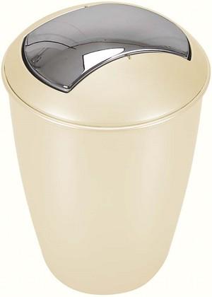 Ведро для мусора 5л шампань Spirella Atlanta 1007726