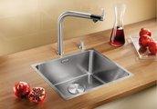 Кухонная мойка без крыла, нержавеющая сталь полированная Blanco Andano 450-IF 519375