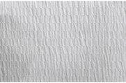 Штора для ванны 180x200см белая жатая с кольцами 12шт Grund CRISP 418.98.032