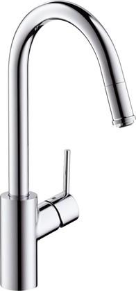Смеситель для кухни с выдвижным изливом, хром Hansgrohe Talis S² Variarc 14872000