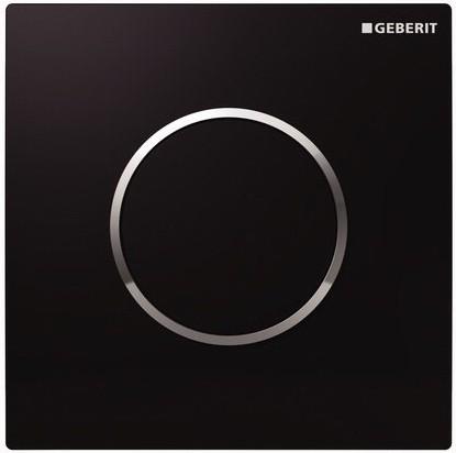 Пневматическая система управления смывом для писсуара, чёрная рама Geberit Sigma10 116.015.KM.1