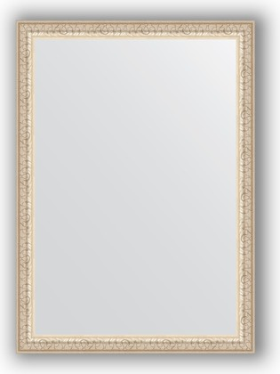 Зеркало 51x71см в багетной раме мельхиор Evoform BY 0790