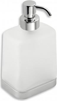 Дозатор для жидкого мыла Novaservis Metalia-4, стекло, настенный, хром 6450.0