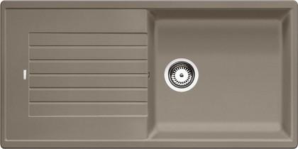 Кухонная мойка оборачиваемая с крылом, гранит, серый беж Blanco Zia XL 6 S 517576