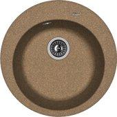 Кухонная мойка Florentina Никосия, d510мм, коричневый 20.135.B0510.105