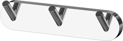 Планка с тремя крючками хром ArtWelle HAR 002