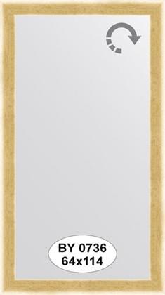 Зеркало 64x114см в багетной раме травлёное золото Evoform BY 0736