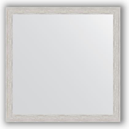 Зеркало в багетной раме 71x71см серебряный дождь 46 Evoform BY 3229