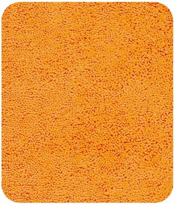 Коврик для ванной 55x65см оранжевый Spirella HIGHLAND 1013068