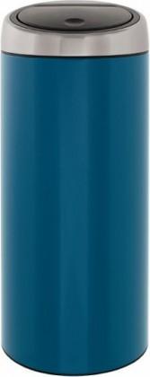 Ведро для мусора 30л синее Brabantia TOUCH BIN 424663
