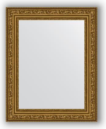 Зеркало в багетной раме 40x50см виньетка состаренное золото 56мм Evoform BY 3007